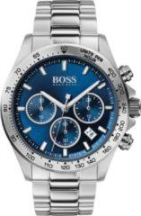 Hugo Boss BOSS HB1513755 HERO - Polshorloge - Staal - Zilverkleurig - Ø 43 mm