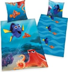 Herdings young collection Renforce-Kinder-Bettwäsche, 2-tlg., Disneys Findet Dorie, 80x80/135x200 cm