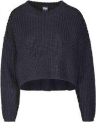 Urban Classics Sweater/trui -S- Wide Oversize Zwart