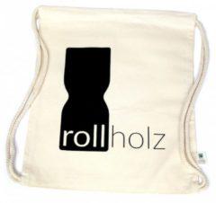 Rollholz Fairtrade Bio-baumwollbeutel rollholz Farblos