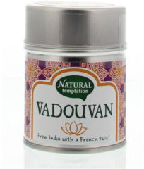 Nat Temptation Vadouvan Blikje Natural Spices (50g)