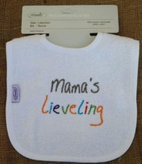 Witte Funnies Tekstslabber Mama's Lieveling Mamas lieveling