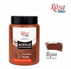 Gele Rosa Studio Acrylverf 400 ml 424 Burnt Siena