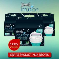 Wilkinson Sword Wilkinson Intuition Sensitive Care Scheermesjes 3 Pack Voordeelverpakking Inclusief haarloop