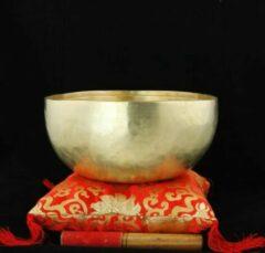 Bruine Yogi & Yogini Klankschaal Nirmala - 20 cm (1000-1250 gram)