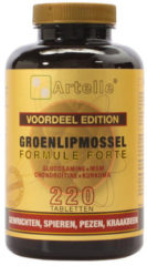 Artelle Groenlipmossel formule forte 220 Tabletten