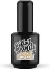 Gouden Nail Candy Gellak: Party Popper - 15ml