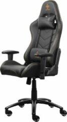 DELTACO GAM-052 Gaming stoel in kunstleder met nek- en rugkussen - Zwart / oranje