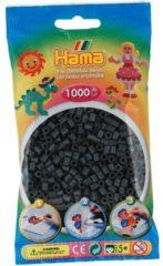 Hama Strijkkralen donkergrijs 1000 stuks (071)