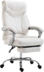 CLP Bürostuhl BIG IOWA mit Kunstlederbezug, Chefsessel mit Fußstütze, max. belastbar bis 136 kg, höhenverstellbar