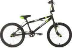 BMX Fahrrad, 20 Zoll, schwarz, 360 Grad Rotor, »Hedonic«, KS Cycling