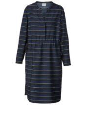 Kleid gestreift Junarose marine gestreift