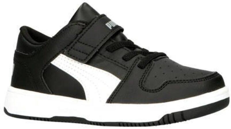 Afbeelding van Puma Rebound Layup Lo SL V PS sneakers zwart/wit