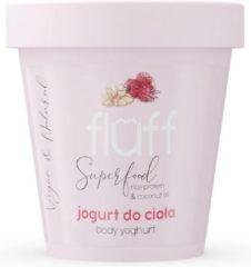 Fluff Body Yoghurt Jogurt Do Cia?a Maliny Z Migda?ami 180ml (w)