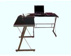 Möbel direkt online Moebel direkt online Eckschreibtisch Computertisch Winkelschreibtisch in 2 Farben lieferbar Schenkelgröße 130x130 cm.