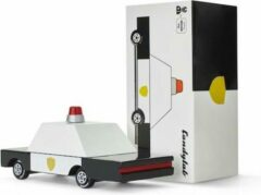 Witte Candylab Toys Candycars - Houten Design Speelgoedauto - Politie