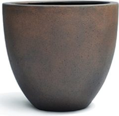 Luca lifestyle Bloempot - Plantenbak - Grote Bloempot - Bloempot XXL - Bruin - Zwart - Kunststof - Cement