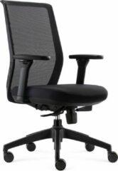 BenS 837-Ergo-4 Ergonomische Bureaustoel - Alle instelopties - EN1335 & Arbo norm - Zwart