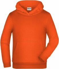 James & Nicholson James And Nicholson Kinderen/Kinderen Basic Hoodie (Oranje)