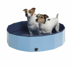Adori Hondenzwembad met afdekzeil - Small - 80 x 20 x 20 cm - Blauw