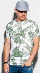 Groene Ombre Heren t-shirt s1297