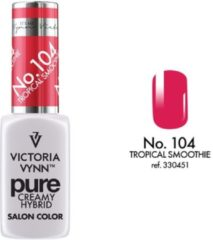 Rode Gellak Victoria Vynn™ Gel Nagellak - Gel Polish - Pure Creamy Hybrid - 8 ml - Tropical Smoothie - 104
