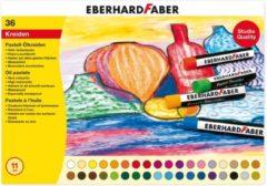 Eberhard Faber Oliepastelkrijt EFA 11mm doos a 36 st assorti