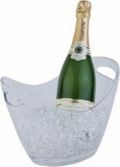 Zwarte APS Wijn- en/of champagnekoeler - transparant - 27x20xh21 cm