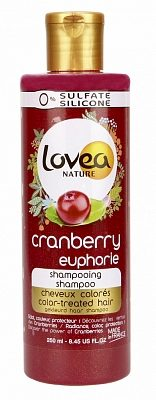 Afbeelding van Lovea Nature Shampoo - Cranberry Gekleurd Haar 250 ml