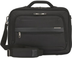 Zwarte Samsonite Aktetas Vectura Evo 16 inch- office case black