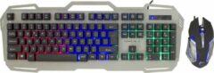 White Shark Apache 2 Gaming Muis en Toetsenbord Set - LED - 3200 DPI