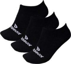 Donnay - Sneakersokken - 3 Paar - Zwart - 39-42