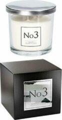 Transparante Cosy&Trendy AMBIENT GEURKAARS IN GLAS NR3 - 40UREN10.7X10.7XH10CM