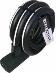 URBAN PROOF UrbanProof kabelslot Reflect. 15mm x150cm Zwart
