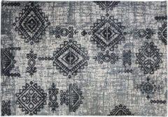 HSM Collection Vloerkleed - katoen - 230x160 cm - grijs