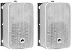 Omnitronic ODP-204T 4 inch 100 V installatiespeaker set, wit