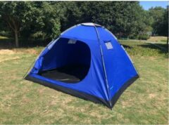 Blauwe Benson Koepeltent 4 Persoons - Polyester - 240 x 210 x 130 cm