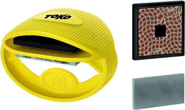 Afbeelding van Toko - Express Tuner Kit - Kantenslijpset geel