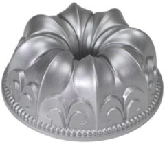 Grijze Nordic Ware Fleur de Lis Bundt bakvorm (brons)