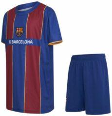 Blauwe Geen merk / fanartikel FC Barcelona Voetbaltenue Thuis Eigen Naam 2020-2021 Kids