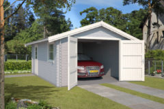 Outdoor Life Products Outdoor Life | Garage Yarik | Platinum Grey | 560x400 cm