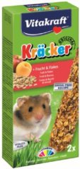 Vitakraft Hamsterkracker - 2 in 1 Fruit - Hamstersnack