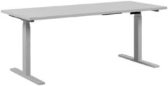 Beliani Bureau elektrisch verstelbaar wit 160 x 72 cm DESTIN II
