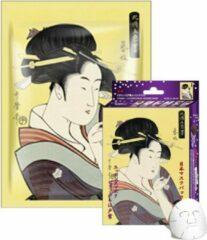 Witte Mitomo Japan Mitomo™ Vitamin E & Lithospermum Gezichtsmasker - Anti Aging Face Mask - Gezichtsverzorging Masker
