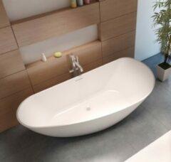 Witte Riho Granada vrijstaand bad 190x90cm Solid Surface