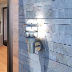 Zilveren DCM VidaXL - Gevelverlichting Buitenmuurlamp RVS 40703