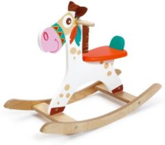 Scratch Europe Scratch Mobiliteit: ROCKING HORSE INDIAANSE PONY 80x53x31cm, max. 25kg, in doos, 1+