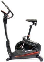 Hometrainer FitBike Ride 3 - fitness fiets incl. trainingscomputer - Rood/Zwart