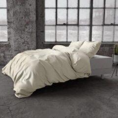 Creme witte Sleep Med SleepMed dekbedovertrek Dallas crème 240x200/220 cm