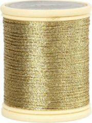 Goudkleurige Goud metallic draad 40 meter